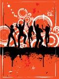 Réception grunge illustration stock