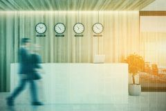 Réception près d'un lieu de réunion, modifié la tonalité Photos stock