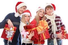 Réception sur Noël Image libre de droits