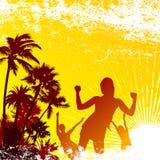 Réception tropicale Photos stock