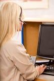 Réceptionniste de bureau Image libre de droits