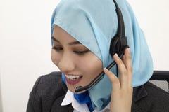 Réceptionniste malais, Photos libres de droits