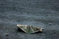 Récession économique abstraite du dollar de sinkin d'art Photos stock