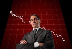 Récession images libres de droits