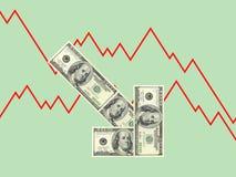 Récession Photographie stock libre de droits