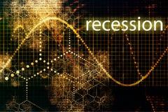 Récession illustration de vecteur