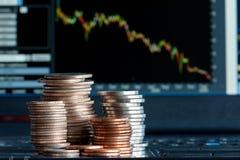 Récession d'économie Photographie stock libre de droits