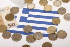 Récession d'économie nationale Image stock