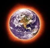 Réchauffement global illustration libre de droits