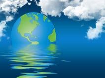 réchauffement global de concept illustration de vecteur