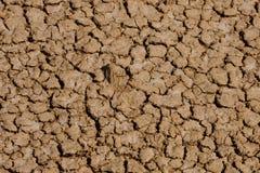 Réchauffement global - saleté criquée après longue sécheresse Photo stock