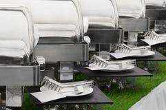 Réchauffeurs de nourriture Photo libre de droits