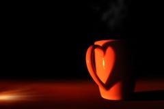 Réchauffez la cuvette de café Photo libre de droits