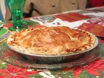 Réchauffez la tarte aux pommes Image stock