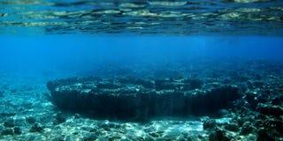 Récif coralien dans l'océan Photographie stock libre de droits