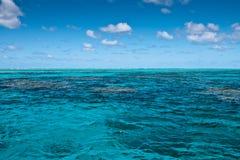 Récif de barrière grand près de Port Douglas Photo stock