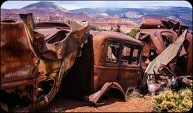 Récif de capitol, Utah photographie stock