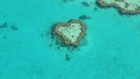 Récif de coeur Image libre de droits