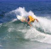 Récif pro 2008 hawaïen Images stock