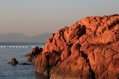 Récif rouge Image libre de droits