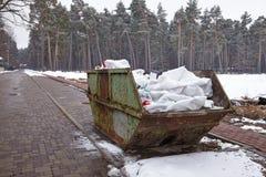 Récipient de déchets Photos stock