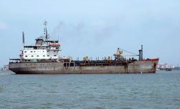 Récipient de mer à Cochin Photos stock