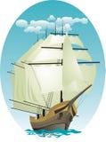 Récipient de navigation Image libre de droits