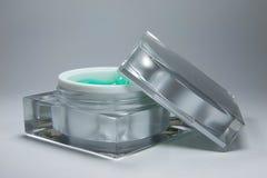 Récipients crèmes d'emballage de beauté photo libre de droits