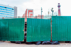 Récipients de déchets et pactes de déchets Image libre de droits