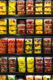 Récipients de fruit Photos libres de droits