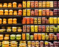Récipients de fruit Photo stock