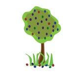 Récolte d'arbre fruitier illustration stock