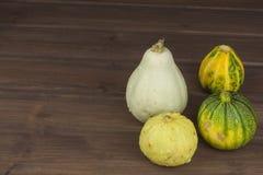 Récolte d'automne des potirons Préparation à Veille de la toussaint Légumes grandissants dans un jardin Endroit pour votre texte Photo libre de droits