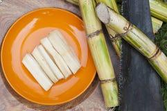 Récolte de canne à sucre Photographie stock libre de droits