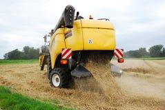 Récolte de grain, Allemagne Photo stock