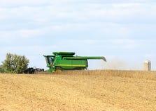 Récolte de soja Image stock