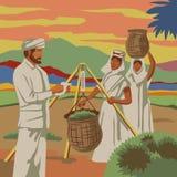 Récolteuses de thé Images libres de droits