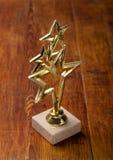 Récompense d'étoile avec Image stock