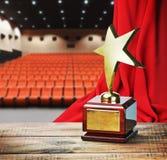 Récompense d'étoile pour le service Photos libres de droits