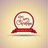 Récompense de bande de Noël Images stock