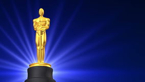Récompense de film banque de vidéos