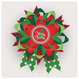 Récompense de Joyeux Noël. Images stock
