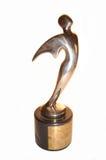 Récompense de télévision d'or Image libre de droits