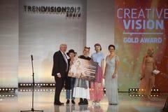 Récompense 2017 de vision de tendance de Wella Images stock
