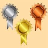 Récompense, icône Images stock