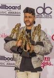 Récompenses 2016 de musique de panneau d'affichage Photo libre de droits