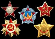 Récompenses militaires Photos libres de droits