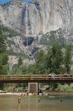 Récréation d'été de Yosemite Photographie stock
