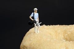 Récréation miniature de peuples photos libres de droits