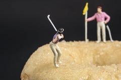 Récréation miniature de peuples images libres de droits